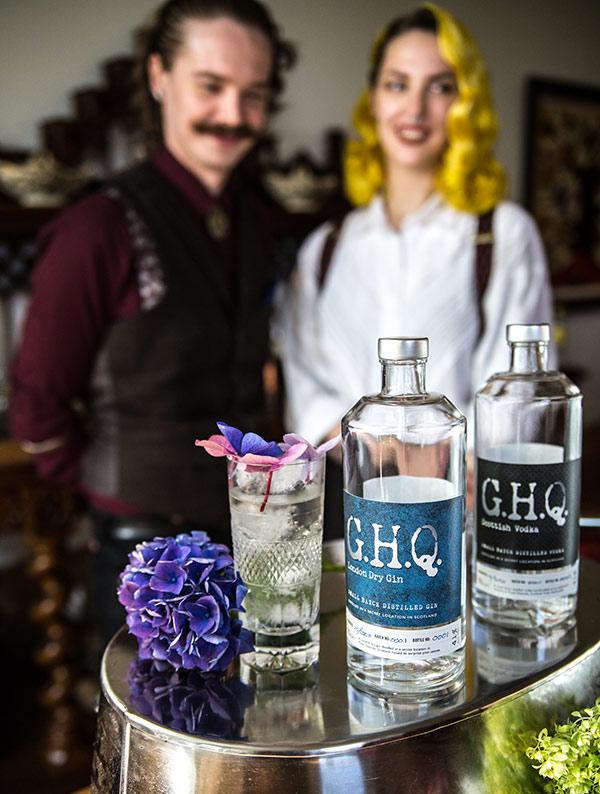 Award-winning premium spirits distilled in Scotland | G.H.Q Spirits