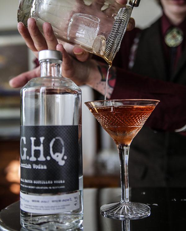Premium spirits distilled in Scotland | G.H.Q Spirits