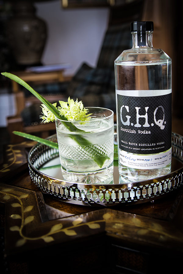G.H.Q Spirits handcrafted in Scotland