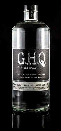 Award-winning G.H.Q Vodka, handcrafted in the Scottish Highlands | G.H.Q Spirits