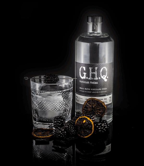 Award-winning premium Scottish Vodka | G.H.Q Spirits