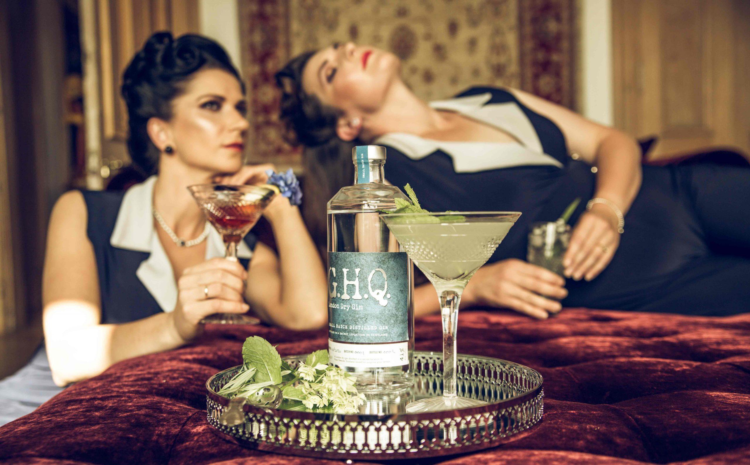 Award-winning premium spirits distilled in Scotland using the finest blend of ingredients | G.H.Q Spirits
